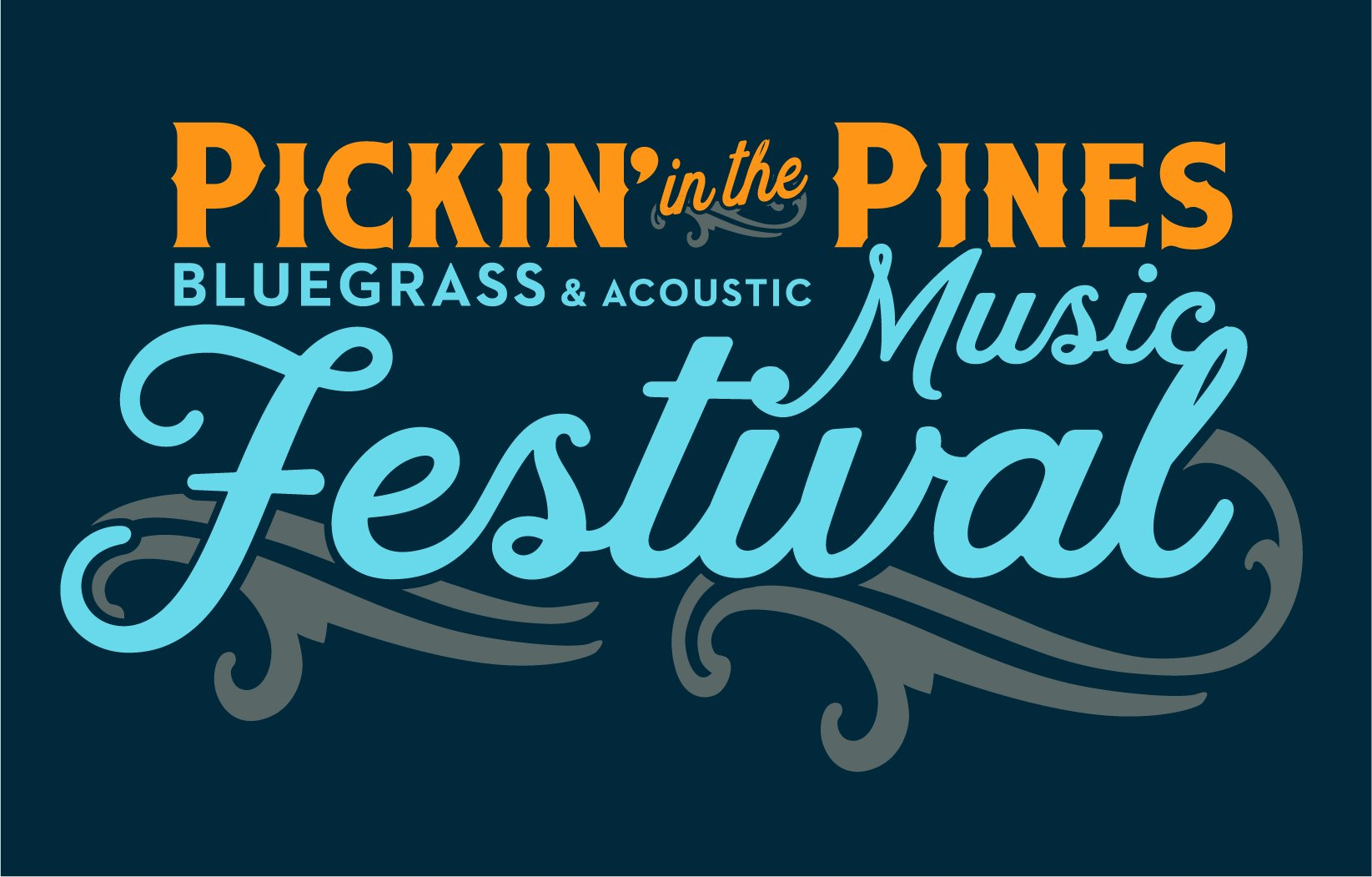 Pickin' in the Pines Bluegrass & Acoustic Music Festival | September 18-20, 2020 Logo